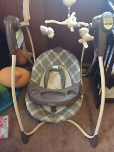 Graco 6 speed baby swing