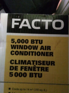 AIR CLIMATISÉ FACTO, 5000 BTU