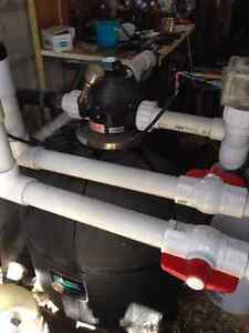 Inground Pool Sand Filter