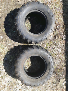 Two Polaris Side By Side Tires