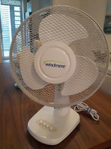 Ventilateur sur table