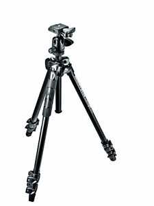 Manfrotto 290 LIGHT Kit, Alu 3 sec. tripod with ball head West Island Greater Montréal image 1