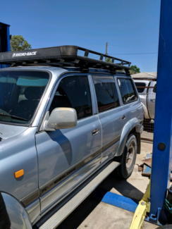 Rhino rack roof basket - gutter mount Byford Serpentine Area Preview