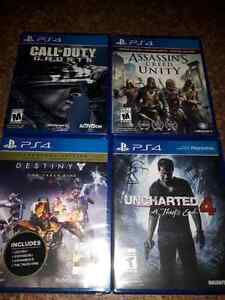 New And Used PS4 Games
