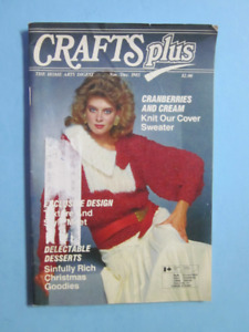VINTAGE - CRAFTS PLUS MAGAZINES