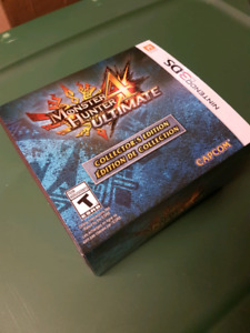 Monster hunter 4 3ds collectors edition