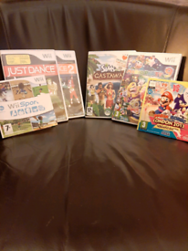 SOLD SOLD !!Wii games
