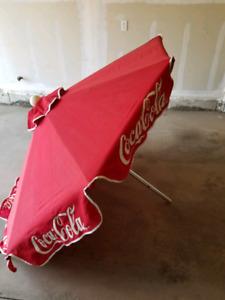 6ft Coca Cola Patio Umbrella