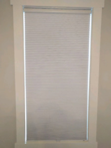 Double cell blackout blinds