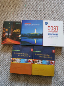 Used Accounting textbooks