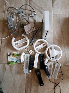 Wii avec plusieurs jeux