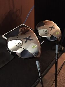 Calaway X.  3 Wood and 5 wood.   Almost new condition