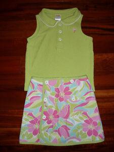 Girl's Gymboree Reversible Skirt & Shirt - size 4