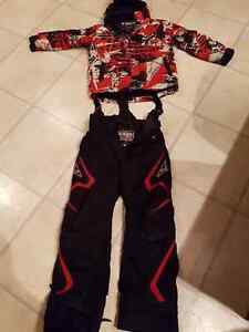 Size 12 floater fxr boys suit and girls size 8 pants
