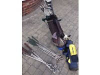 Joblot Of Golf Clubs 3 Full Sets With Dunlop Bag Drivers & Irons Excellent Condition