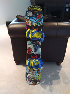 Burton chopper limited marvel edition snowboard
