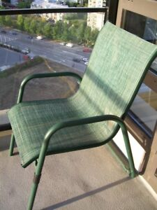 Patio chairs -$40