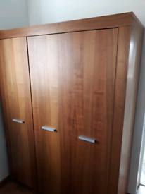 Wardrobe Chest of drawers Bedside cabinet