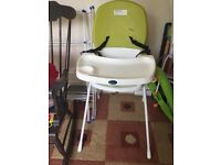 High chair Reduced price