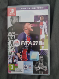 Fifa 21 switch game legacy edition