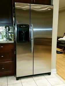 Maytag side by side refrigerator for sale