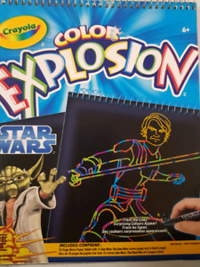 Star Wars Explosions Color Books