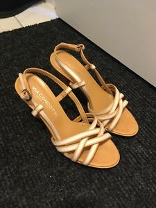 new leather sandals from Italy - size 7