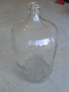 Vintage Crisa Glass Carboy