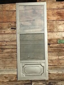 Insulated Aluminum Storm Door