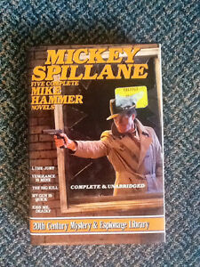 MICKEY SPILLANE book of Mike Hammer novels.