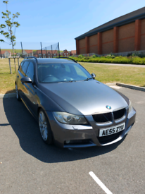 image for Bmw e91 330d m sport touring grey fully loaded ( spares or repairs)