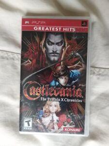 Castlevania Dracula X Chronicles PSP