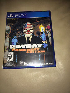 PS4 game, Payday CrimeWave edition
