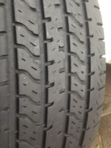 4 Uniroyal Summer tires 235-70-15