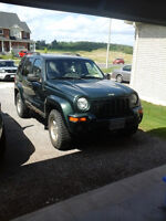 2002 Jeep Liberty Limited SUV, as is,etested (pass) 2 mths ago