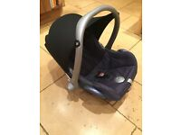 Maxi cosi car seat - navy blue