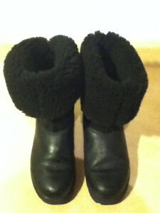 Women's Sorel Black Winter Boots Size 7.5 London Ontario image 5