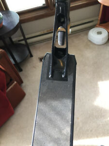 District C235 black and gold trick scooter