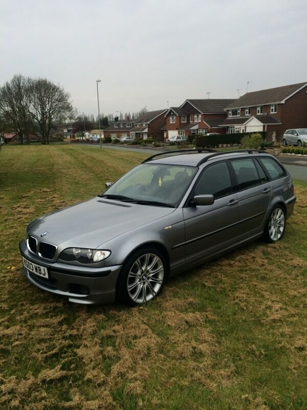 bmw e46 touring 320d m sport auto trip tonic 2003 in walsall west midlands gumtree. Black Bedroom Furniture Sets. Home Design Ideas