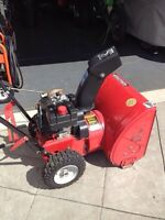 4 hp mastercraft snowblower