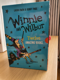 Winnie and Wilbur book collection