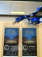 Pair of GREY CUP Tickets **Lower Bowl**