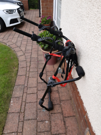 Halfords high mount rear cycle carrier