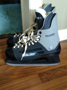 Bauer Turbo Size 11 Ice Skates - Excellent Shape -$75 OBO