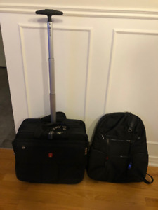 Sac de transport à roulettes pour portable et/ou documents