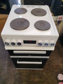 Beko 50cm electric cooker double oven