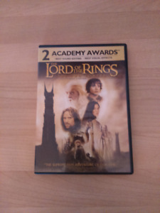 DVD seigneur des anneaux lord of the rings two towers