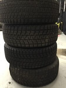 "Bridgestone Blizzak 255/60 R19 Snow Tires  19""  Excellent Cond."