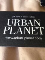 Urban gift card for trade or sell