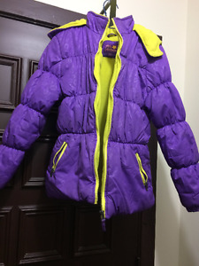 Girls Jacket purple colour- 12-16 size